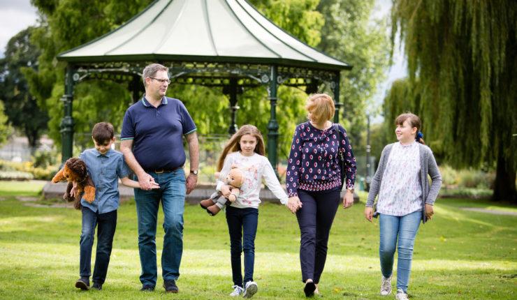 New skills and fresh experiences - John and family